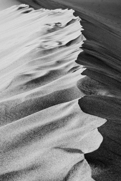 Death Valley Sand Dunes<br /> Just playing around with Black & White.  <br /> ~Deb