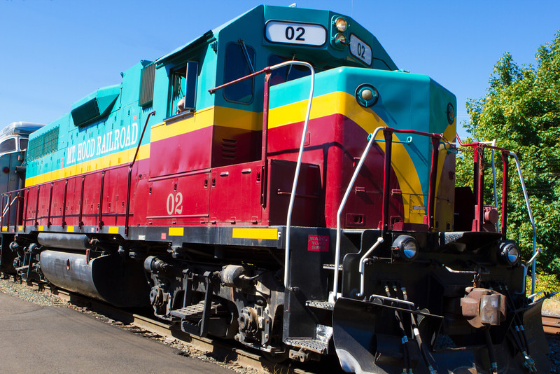 "Mt Hood Railroad<br /> A scenic ride from Hood River through pear country and into Parkdale.  <br /> <a href=""https://www.mthoodrr.com/"">https://www.mthoodrr.com/</a><br /> <br /> enjoy<br /> Deb<br /> 8/24/2012"