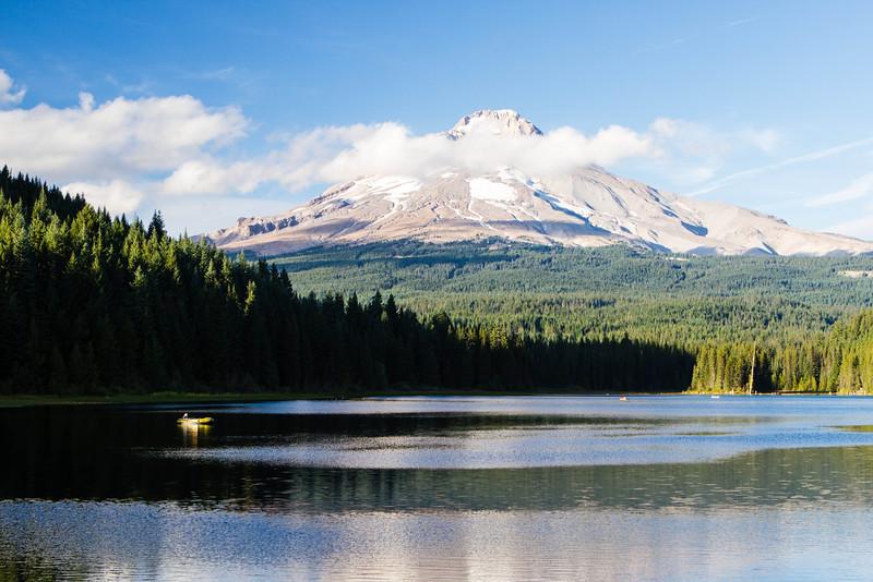 A Quiet Moment at Trillium Lake <br /> Enjoy<br /> ~Deb<br /> 9/29/2012