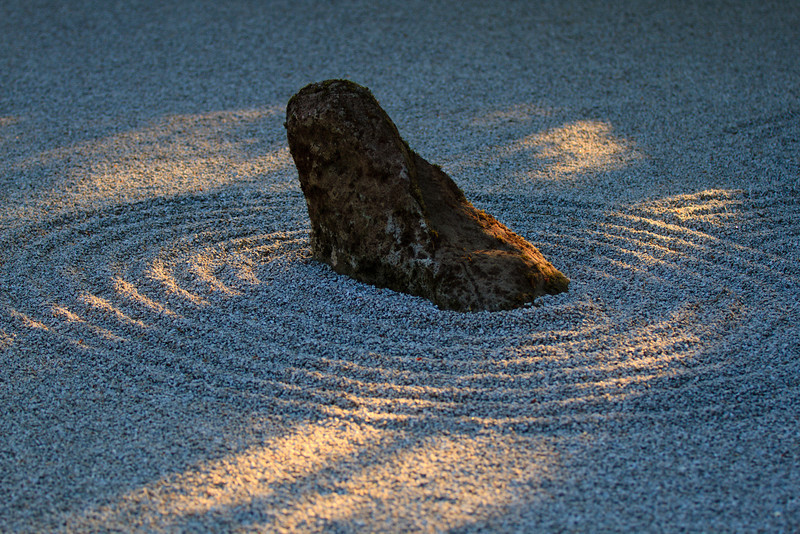 Sand and Stone Garden in the morning light<br /> Japanese Garden, Portland Oregon<br /> <br /> Cheers,<br /> ~Deb<br /> 9/13/2012