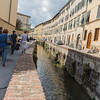 inside the walled city of Lucca