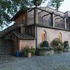 the backside of Casa Berti...
