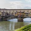 Ponte Vecchio- with a corridor built above it so Medici could have a walkway