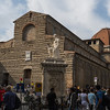 Basilica di San Lorenzo (one of the largest churches in Florence and burial place of the Medici family)