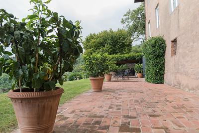 walkway to Casa Berti
