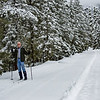 Jim Cross Country skiing West Fork, CO