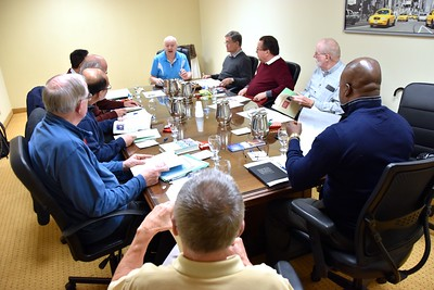 Fr. Peter gives an update on the North American Migration Committee's work