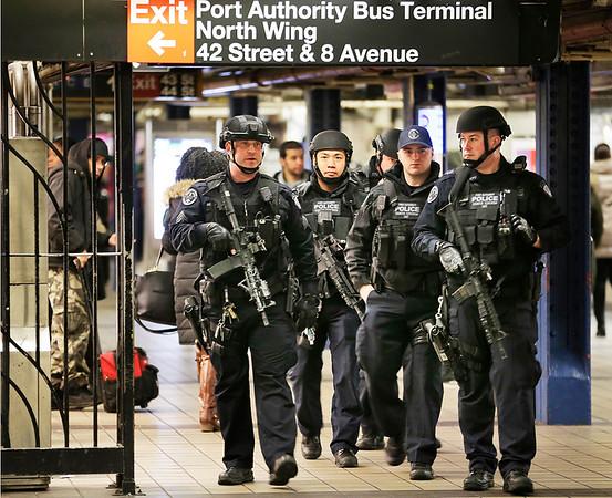 APTOPIX NYC Subway Explosion