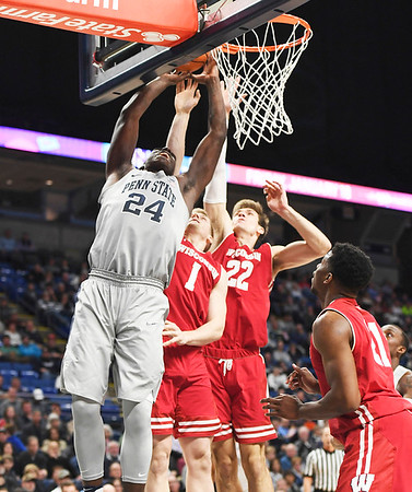 Wisconsin Penn State Basketball
