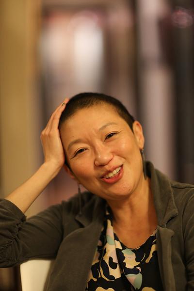2012 Dec: Annie John HK, Alexis in ski clothes, 2 pigeons in flight, Edgar BW