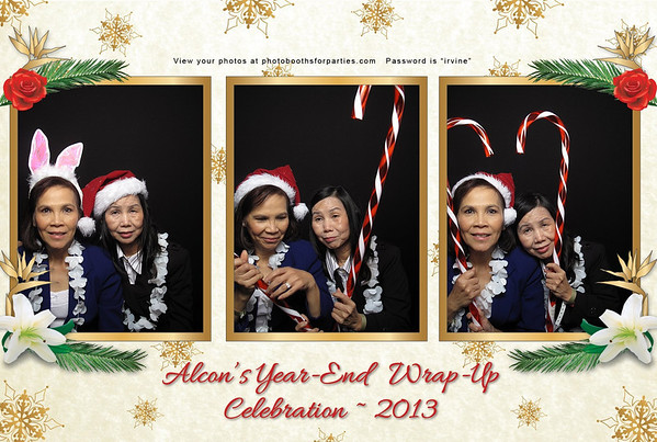Alcon's Year End Wrap Party Celebration - Booth 1