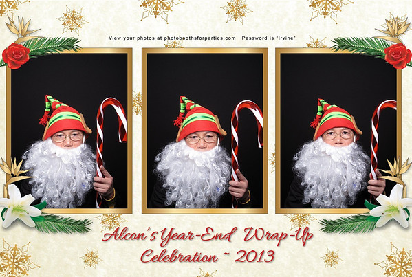 Alcon's Year End Wrap Party Celebration - Booth 2