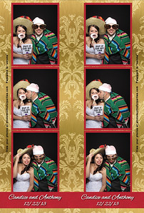 Candice and Anthony's wedding