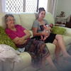 Taking it easy, Nan, Tiff and Maddox