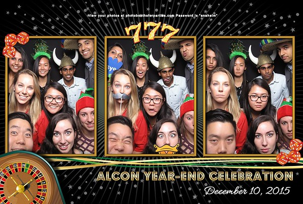 Alcon Holiday Party 2015 - Left Booth