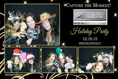Ben's Asphalt Inc. Holiday Party 2015