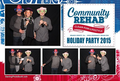 Community Rehab Holiday Party 2015