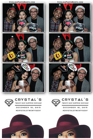 Crystal's Twenty-Sexy Surprise Birthday