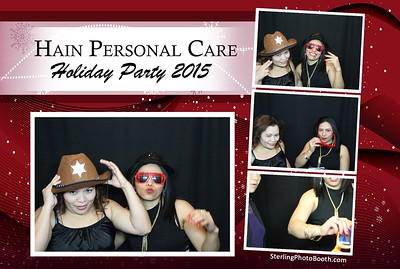 Hain Personal Care Holiday Party 2015
