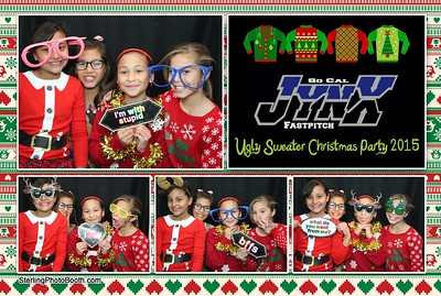 So Cal Jynx Fastpitch Ugly Sweater Christmas Party 2015
