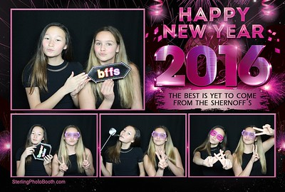 The Shernoff's 2016 New Years Party