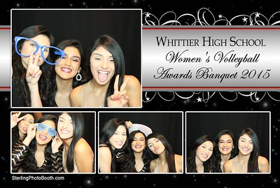 Whttier High School Women's Volleyball Awards Banquet 2015