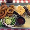 Brisket sandwich from Willie's.