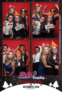 SA Recycling Holiday Party - Booth on Left