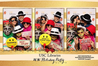 USC Libraries Holiday Party