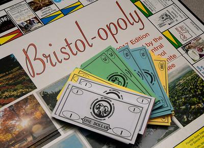 12/1/2016 Mike Orazzi   Staff The Bristol-opoly game.