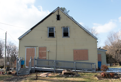 121416  Wesley Bunnell | Staff  The home at 262 Fall Mountain Rd in Bristol is shown boarded up after a Dec 6 fire.