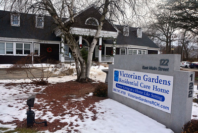 12/21/2016 Mike Orazzi | Staff Victorian Gardens Residential Care Home in Plainville.