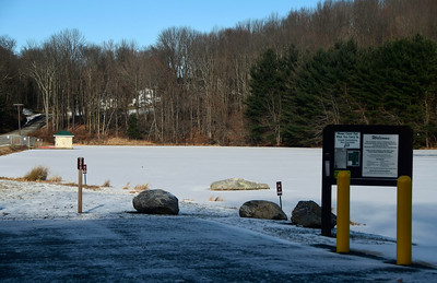 12/16/2016 Mike Orazzi | Staff The Plymouth Reservoir Recreation Area.