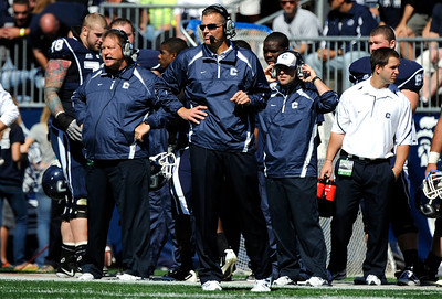 10/2/2010 Mike Orazzi | Staff UConn's Randy Edsall during Saturday's win over Vanderbilt.