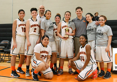 122916  Wesley Bunnell   Staff  E.C. Goodwin girls basketball came away with the runner up trophy in the Goodwin Tech Holiday Basketball Classic Tournament.