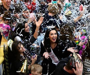 12/31/2016 Mike Orazzi | Staff Miss Bristol 2017 Gina Salvatore during the 11th Annual Celebrations around the World at the Imagine Nation in Bristol Saturday.