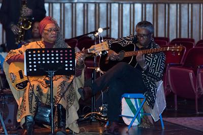 123016  Wesley Bunnell | Staff  Queen Ann Nzinga Center held a Kwanzaa celebration on Dec 30 at Trinity-on-Main.