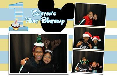 Trenton's 1st Birthday