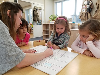 Counting the Days in Pre-Kindergarten