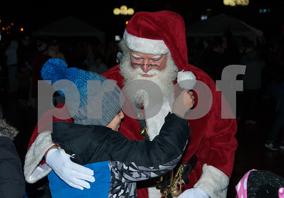 12/05/17   Wesley Bunnell | Staff  New Britain held their annual Tree Lighting at Central Park on Tuesday evening with a visit from Santa Claus. Children run up to Santa for hugs as he walks through Central Park before the tree lighting.