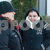 12/13/17  Wesley Bunnell | Staff<br /> <br /> Friends, both named Carmen Perez, wait in frigid conditions at the CT Transit bus station on Bank St. in downtown New Britain on Wednesday afternoon.