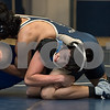 12/13/17  Wesley Bunnell | Staff<br /> <br /> Plainville wrestling defeated Newington Wednesday evening at Plainville High School.  Newington's Emilio Cruz, top and Plainvlle's Dominic Pedrolini in the 120lb contest.