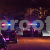 12/14/17  Wesley Bunnell | Staff<br /> <br /> A reported officer involved shooting occurred on Thursday evening near the intersection of Chapman St and Chapman Ct.  Two police vehicles are shown at the intersection.
