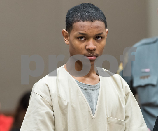 12/15/17 Wesley Bunnell | Staff Noah Young was arraigned on drug charges in New Britain Superior Court on Friday afternoon. Young was a passenger in the car with two other occupants which was involved in a New Britain Police Officer related shooting on Thursday evening at the intersection of Chapman St & Chapman Ct.