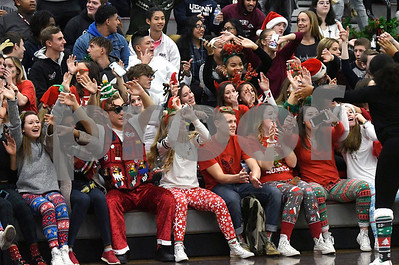 12/22/2017 Mike Orazzi | Staff Bristol Central High School students during Festivus  before Christmas break Friday in Bristol.