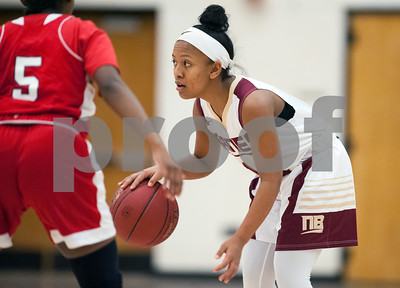 12/29/17  Wesley Bunnell | Staff  New Britain basketball was defeated by visiting Wilbur Cross 56-28 on Friday evening at New Britain High School. Saniya Pellegrini (11).