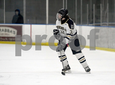 12/30/2017  Mike Orazzi | Staff Newington's Justin Roberts (32) at the Newington Ice Arena Saturday.