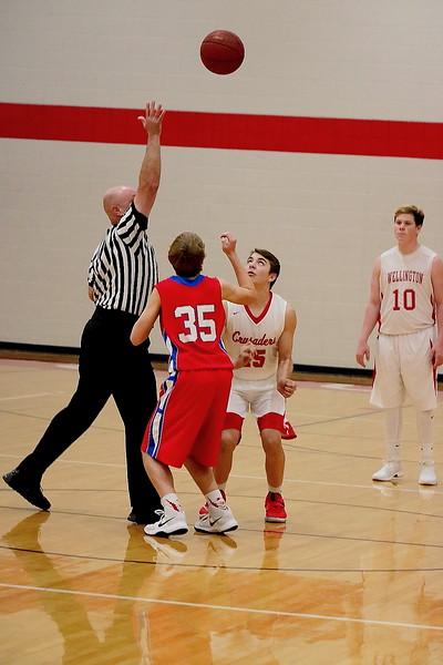 WHS Boys Basketball vs Cheney HS  120717