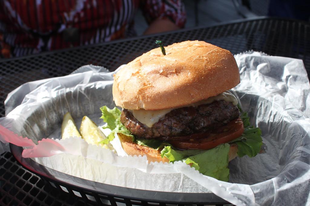 Airport Restaurant burger