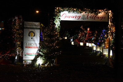 Even after the big celebrations have subsided, the trees in the Rotary Club of Davidson's Giving Village still glow. This wonderful fundraiser for local nonprofit organizations in a favorite attraction for young and old visitors alike.